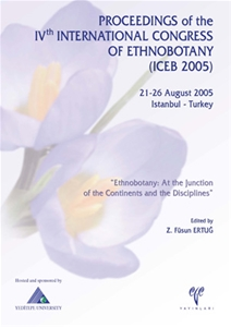 Proceedings of the IVth International Congress of the Ethnobotany (ICEB 2005)