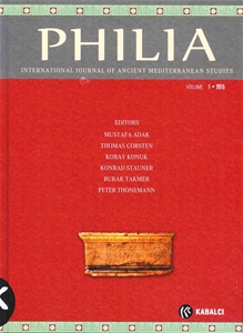 Philia International Journal Of Ancient Mediterranean Studies Volume 1 2015
