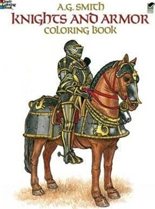 Knights and Armor Colouring Book