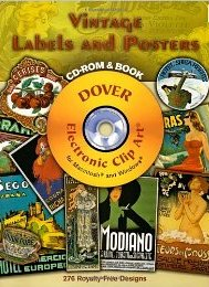 Vintage Labels and Posters CD-ROM and Book