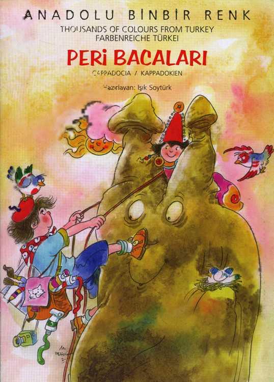 Peri Bacaları Boyama Gazetesujin