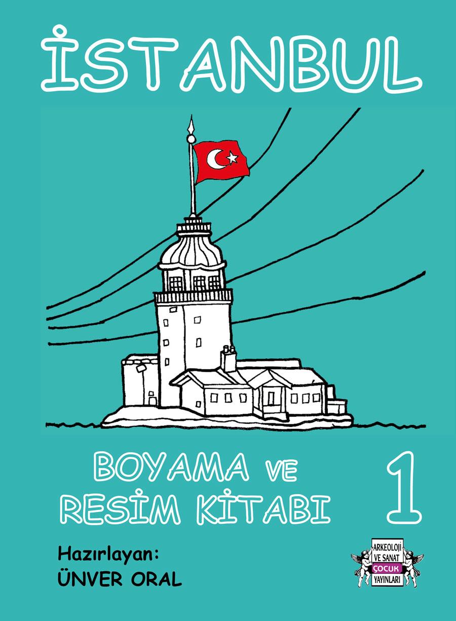 Istanbul Boyama Ve Resim Kitabı 1 Arkeoloji Ve Sanat