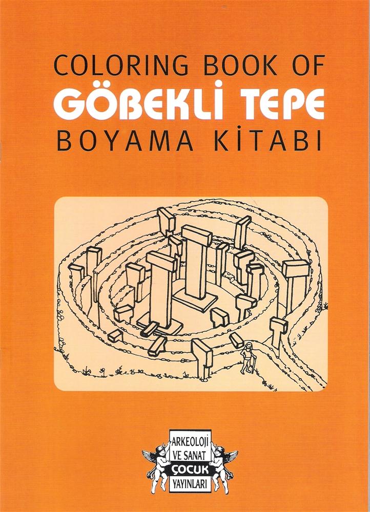 Coloring Book Of Gobekli Tepe Boyama Kitabi Arkeoloji Ve Sanat